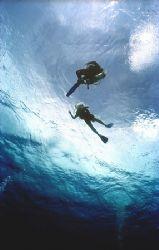 Is water blue??? by Michael Odonnell