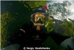 Lake Bajkal. Underwater Tchyvyrkui Bay by Sergiy Glushchenko