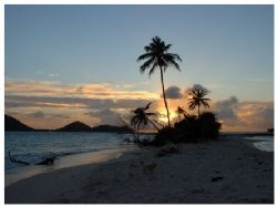 Sandy Island. Lying to the 'sunset' side of Carriacou in ... by Ed Burford
