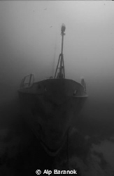Pinar I wreck form Bodrum/Turkiye. Taken with Nikonos V &... by Alp Baranok