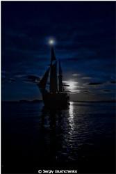 Moon & Night by Sergiy Glushchenko