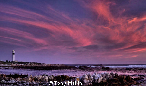 PringleBay lighthouse- panoramic HDR