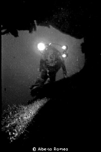"""Videomaker in """"Doria"""" wreck. In 1980's I and my team exp... by Alberto Romeo"""