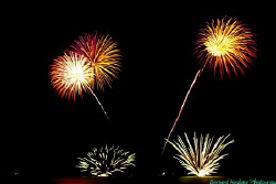 I love fireworks as much as I love diving..... by Bernard Maglana