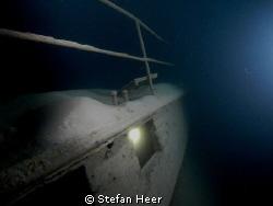 Lediwrack 28.02.2010 Old wreck in the lake of Walensee i... by Stefan Heer