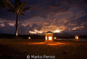 Last light Bali. by Marko Perisic