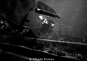 In 1980's I and my team explored some wreks in little isl... by Alberto Romeo