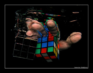 series of Rubik's hand