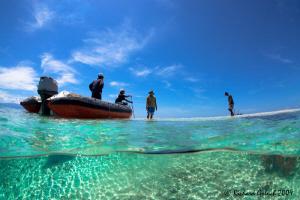 Raja Ampat-Manta Point at  low tide. by Richard Goluch