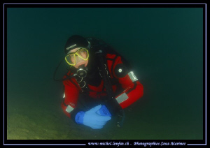 Diving one of our Freshwater lakes not far from home with... by Michel Lonfat