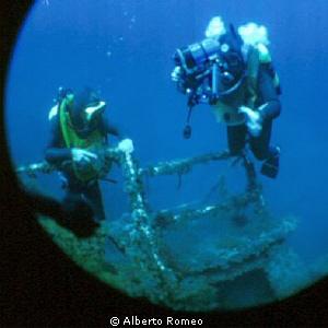 """Exploring the wreck of """" Carmelo Lo Porto"""" in Favignana i... by Alberto Romeo"""