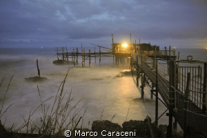 TRABOCCO, an ancient system of fishing on the rocky coast... by Marco Caraceni