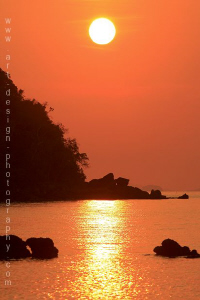 sunset Koh Chang by Patrick Neumann