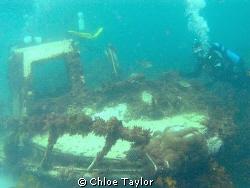 Sunken cray boat, Abrolhos Islands by Chloe Taylor