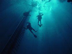 NEMO33 34 meters deep in swimming pool in Belgium. Digi... by Koos Kozel