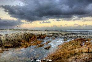 HDR of Pringle Bay lighthouse by Tony Makin
