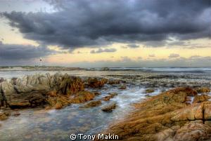 HDR of Pringle Bay lighthouse by Tony Makin