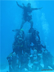 Underwater pyramid at the German Channel by Paz Maria De Vera-Santos