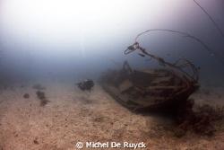 little Sipadan wreck by Michel De Ruyck