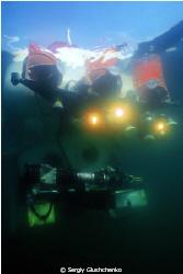UW-submarin Picees on the lake Bajkal by Sergiy Glushchenko