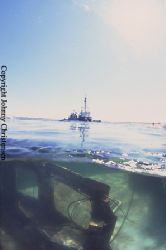 During a salvage operation, this little wreck was raised ... by Johnny Christensen