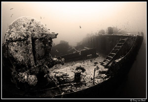 Thistlegorm the old fasioned way. by Dray Van Beeck