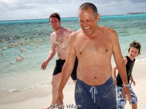 Fun on the beach! by Kay Wilson