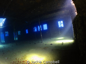 Bridge of the Umbria wreck in Sudan taken with manual wb ... by Jackie Campbell