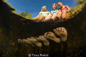 Six foot by Tony Makin