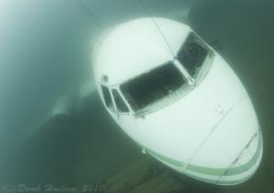 Plane cockpit. D3, 16mm. by Derek Haslam