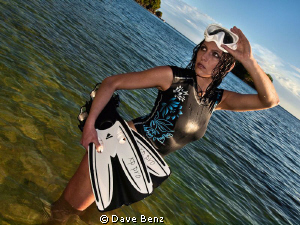 You need a dive buddy...??? by Dave Benz