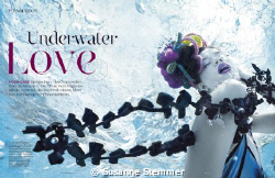 underwater fashion photography, underwater fashion editor... by Susanne Stemmer