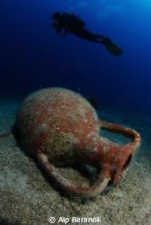 Amphora form Bodrum/Turkiye. Taken with Nikon D80, Nikon ... by Alp Baranok