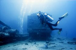 "On the board of H.M.S.""Thistlegorm"". Red Sea. by Lyubomir Klissurov"