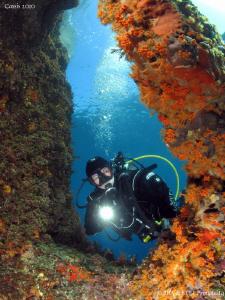 Colorful Mediterranean Sea. Calanques de Cassis. Canon G1... by Bea & Stef Primatesta