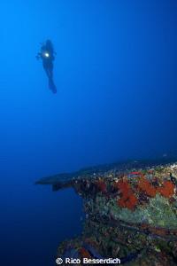 """Dutchess of York"", a shipwreck near Kalkan in Turkey. Si... by Rico Besserdich"
