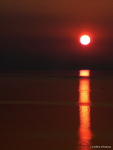 Sunset. Neuchâtel Lake. by Bea & Stef Primatesta