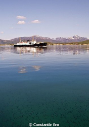 "The Hurtigruten ship ""M/S Nordstjernen"". Picture was take... by Constantin Ene"