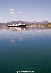 "The Hurtigruten ship ""M/S Nordstjernen"". Picture was take... by Constantin Ene"