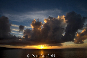 There is a reason why sunsets are a bit of a cliche, and ... by Paul Duxfield