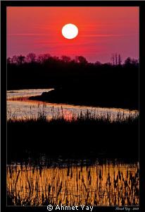 Sunset at Blacksea by Ahmet Yay