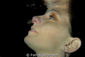 Underwater Model by Patrick Neumann