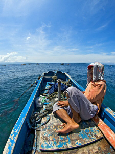 """""""Siesta""""  Between two dives at Pescador Island. In the ... by Henry Jager"""