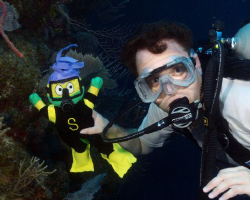 "This elementary school principal brought ""Miss S"" diving ... by Susan Beerman"
