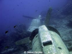 Dakota engines, wrecked in Bodrum Bay, Turkey. Taken with... by Steve Davies