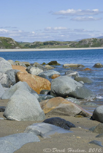 Criccieth beach. S5PRO, 18-200mm. by Derek Haslam