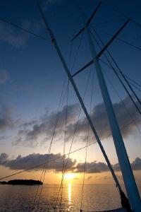 Sunset in the Maldives by Jon Kreider