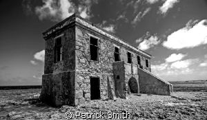 The old Coast Guard Station , Boka Spelonk ,Bonaire. by Patrick Smith