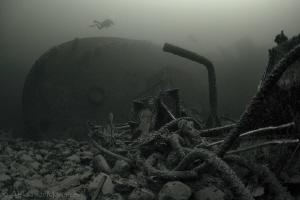 """PSK """"Sevan"""", Baltic sea, depth 32m by Aleksandr Marinicev"""