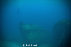 While on diving in the BVI's we visited these two wrecks ... by Rob Lysak
